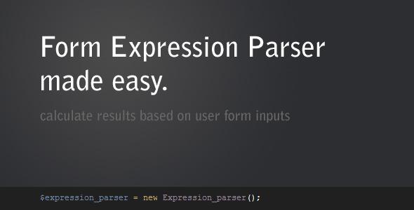 Form Expression Parser