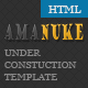 Amanuke - Under Construction HTML Template - ThemeForest Item for Sale