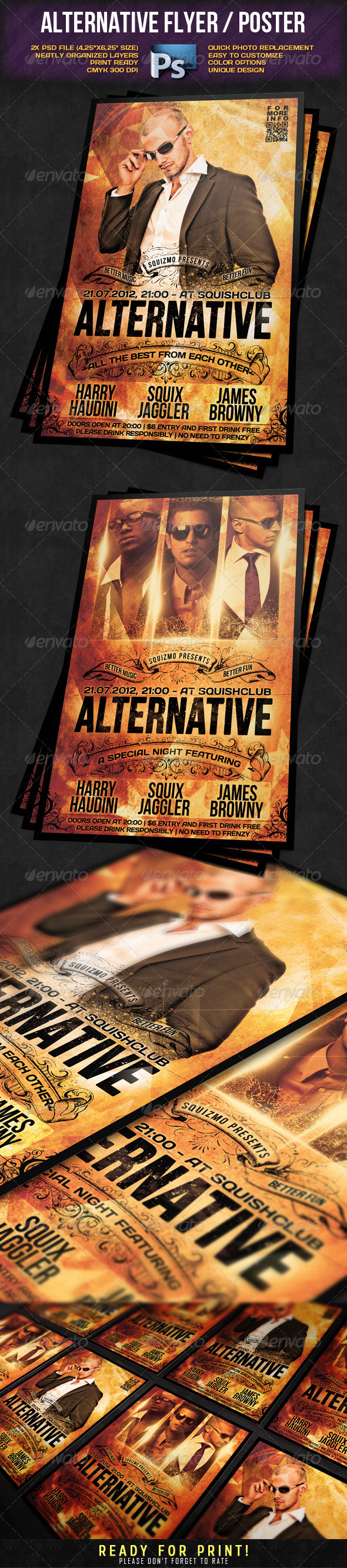 GraphicRiver Alternative Flyer Poster 2162879