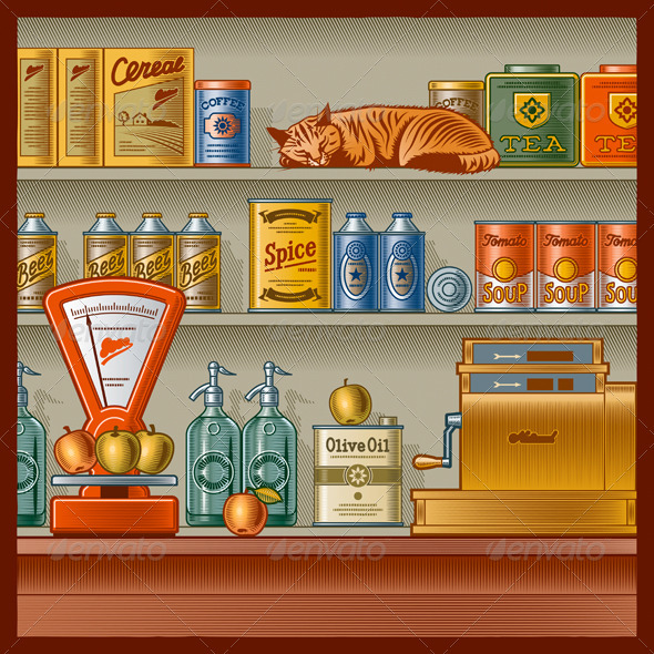 Retro Store - Retail Commercial / Shopping