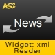 Widget: News Reader - ActiveDen Item for Sale