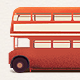Red Double-Decker Bus Vector/Raster - GraphicRiver Item for Sale