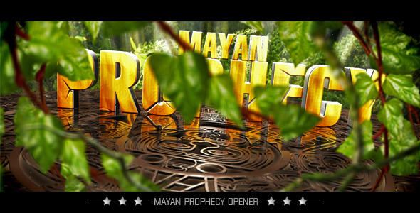 After Effects Project - VideoHive Mayan Prophecy Show 2012 2205936