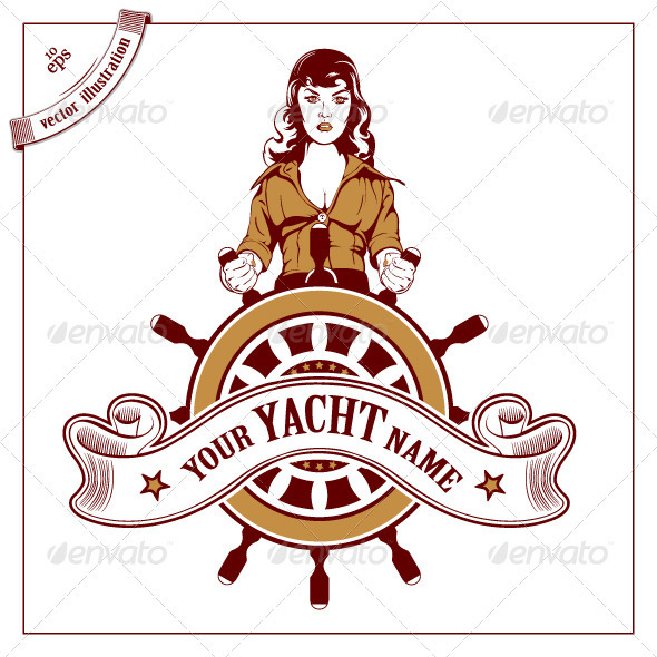 Pirate Cartoon Woman People