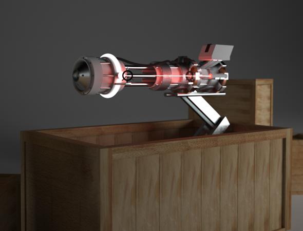 3DOcean Ray Gun 82714