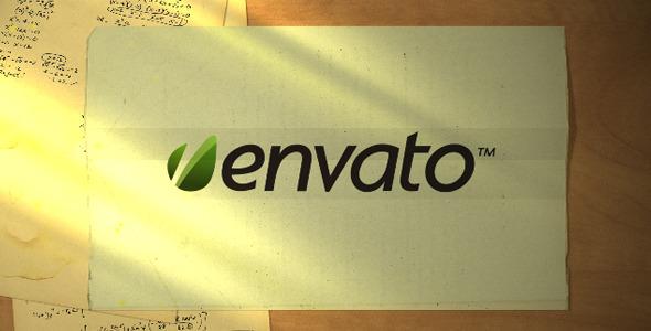 VideoHive Paper Plane Logo Reveal 2209556