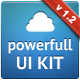 Powerfull Corporate UI Kit - GraphicRiver Item for Sale
