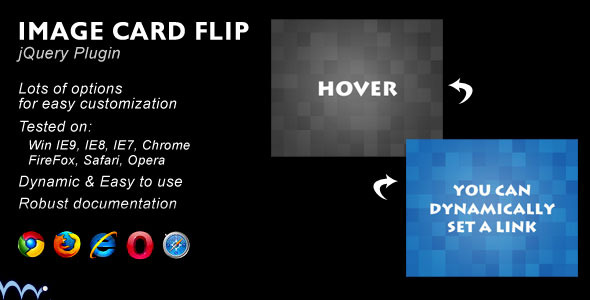 Card Flip JS Plugin - CodeCanyon Item for Sale