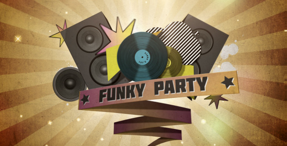 After Effects Project - VideoHive Funky party 250583