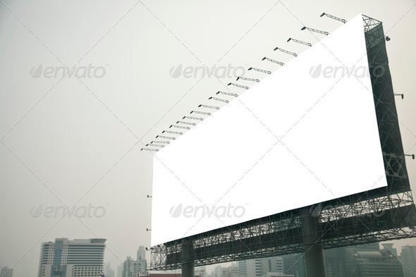 Stock Photo - PhotoDune Blank billboard 2212497