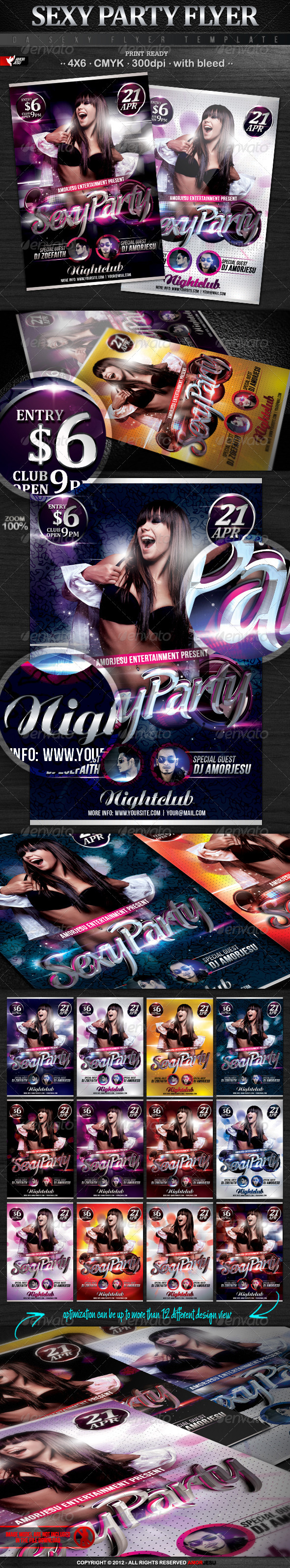 Sexy Party Flyer Template