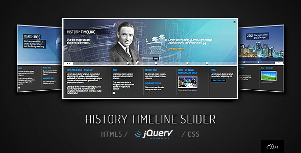 CodeCanyon jQuery Timeline Slider 2214213