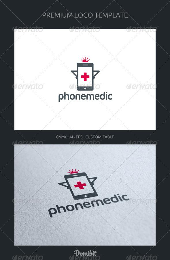 Phone Medic Logo Template