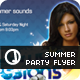 Summer Sessions Party Flyer Set - GraphicRiver Item for Sale