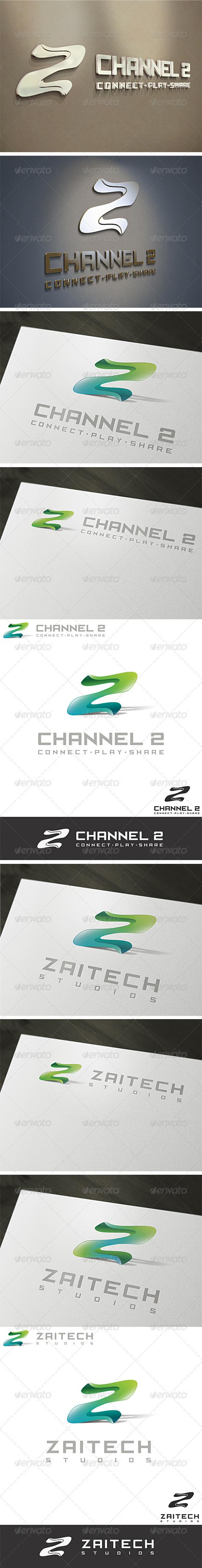 GraphicRiver 3D Z & 2 Logo Template 2215854
