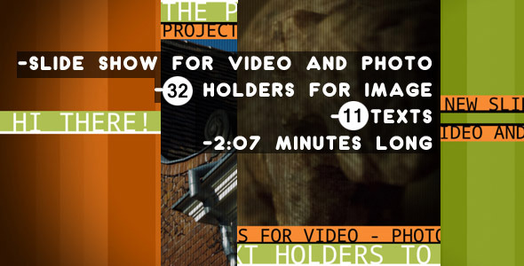 After Effects Project - VideoHive Cheerful Photo And Video Slideshow 221766 ...