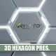 Futuristic 3D Hexagon Presentation - VideoHive Item for Sale