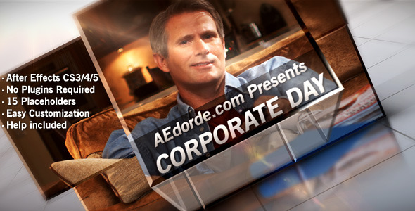 After Effects Project - VideoHive Corporate Day 251352