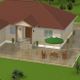 House for architectural render