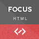 Focus - Clean Responsive Portfolio Template - ThemeForest Item for Sale
