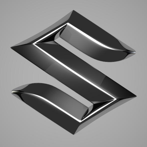 3DOcean Suzuki Logo 251723