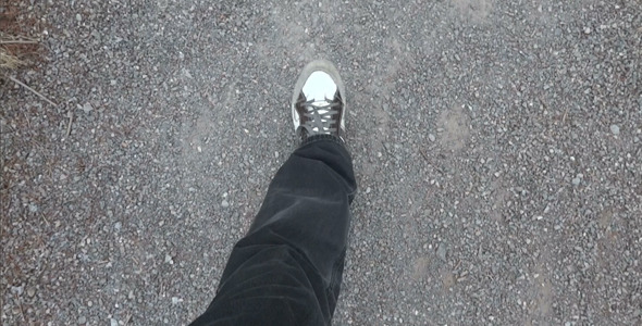 Walking On Gravel
