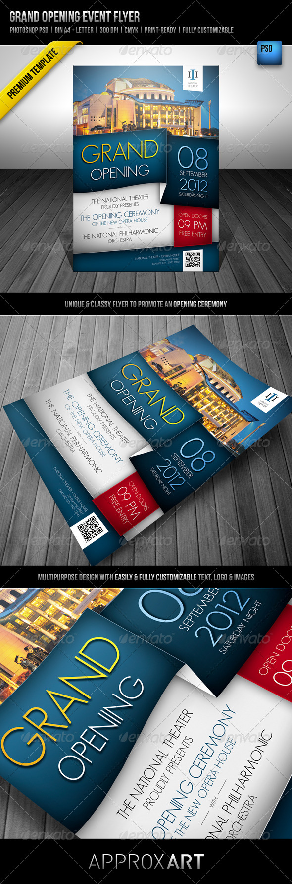 GraphicRiver Grand Opening Event Flyer 2092450