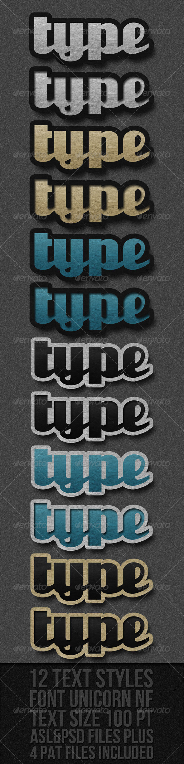 GraphicRiver Text Styles 251791