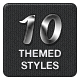 10 Themed Photoshop Styles - GraphicRiver Item for Sale
