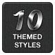 10 Themed Photoshop Styles