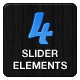 4 Theme Slider Elements - GraphicRiver Item for Sale