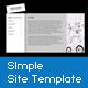 XML Simple Site Template - ActiveDen Item for Sale