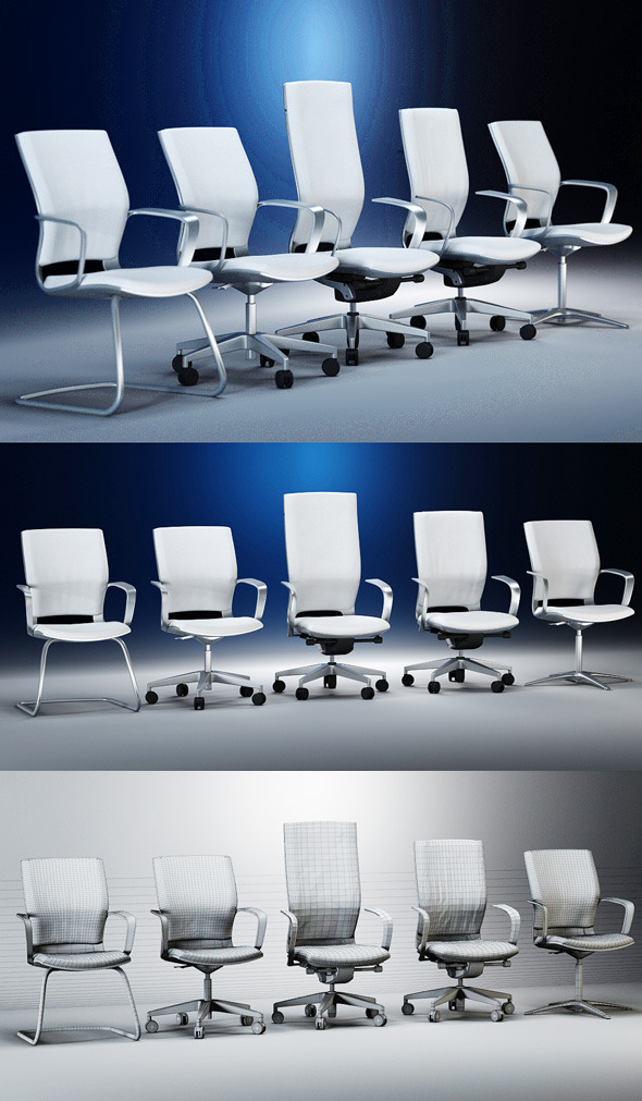 3DOcean Quality 3dmodel of modern chairs Moteo Kloeber 2224167