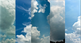 Tropical Clouds Time Lapse (1) - 3K resolution               (Stock Footage)