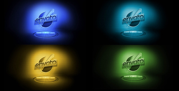 VideoHive BLUE Logo Reveal 2174597