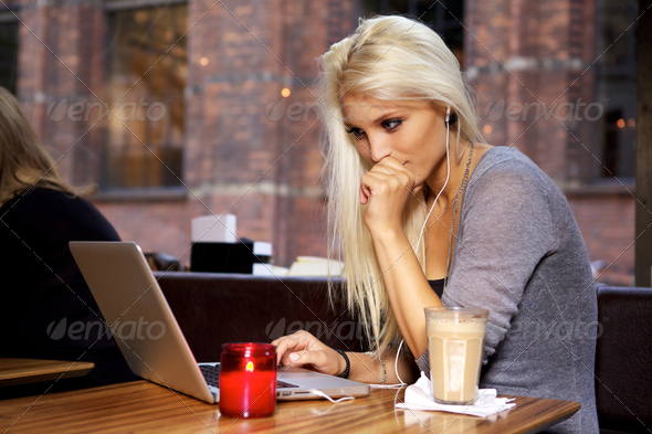 Stock Photo - PhotoDune College student on cafe 2231036