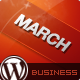 March - Responsive Clean Business WordPress Theme