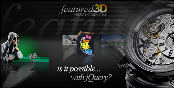 Codecanyon - jQuery Featured 3D Slider - RIP
