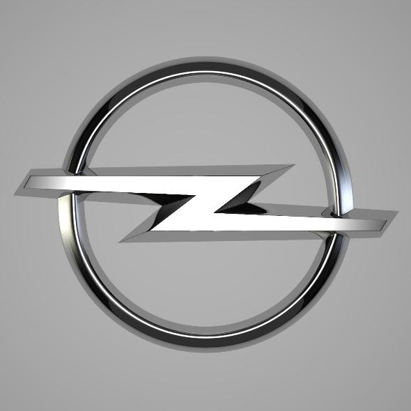 3DOcean Opel Logo 252602