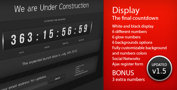 ThemeForest Display The Final Countdown 239141