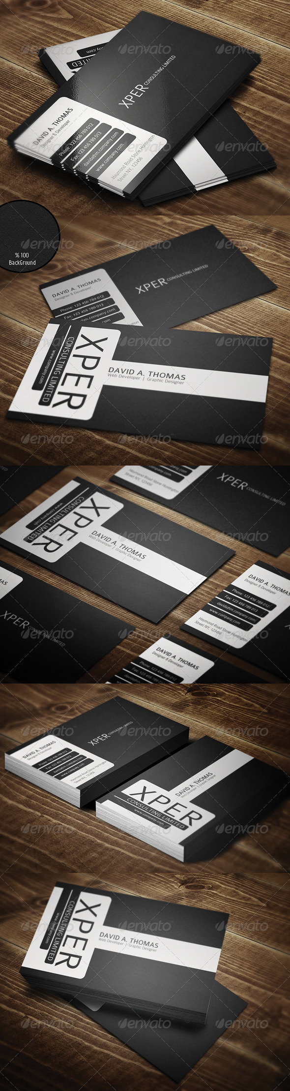 GraphicRiver Personal Business Card 2229432