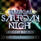 Magical Saturday Night Flyer Template - GraphicRiver Item for Sale
