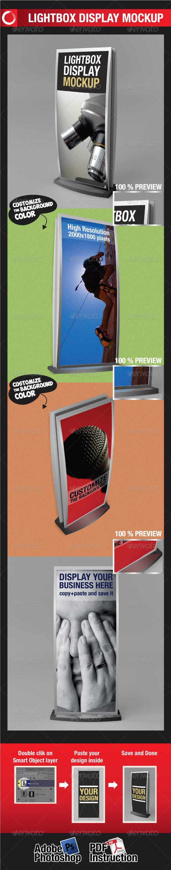 GraphicRiver Lightbox Display Mockup 2032492