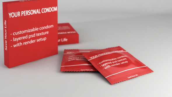 Condom Pack - 3DOcean Item for Sale