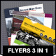 Flyers Pack 3 in 1 - GraphicRiver Item for Sale