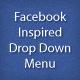 Facebook Inspired CSS Drop Down Menu - WorldWideScripts.net vare til salg