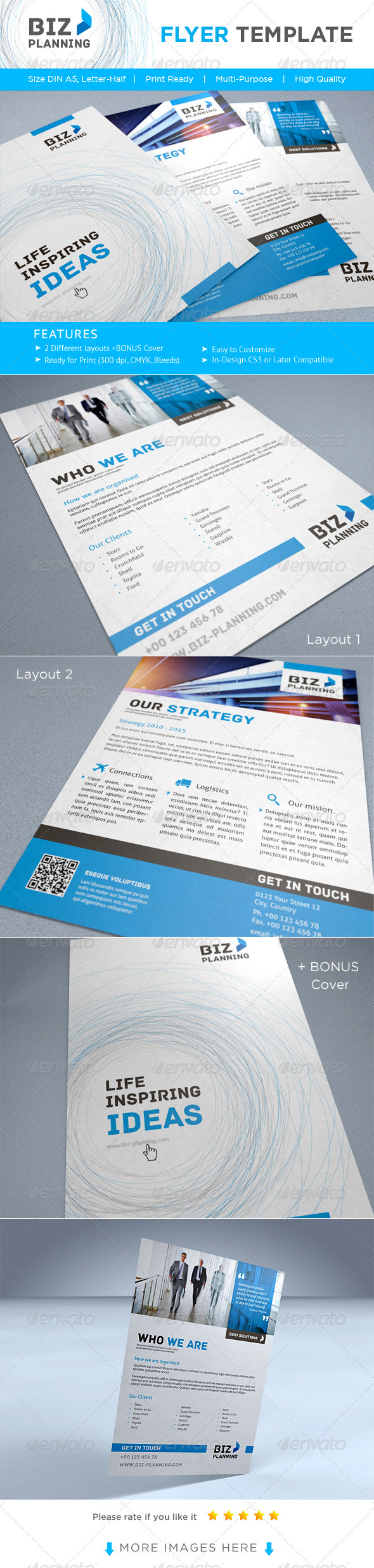 GraphicRiver Corporate Flyer AD Template 2235603