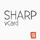 Sharp – HTML5 Premium vCard  Free Download