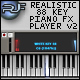 Realistic 88 Key Piano FX player (v2) - ActiveDen Item for Sale