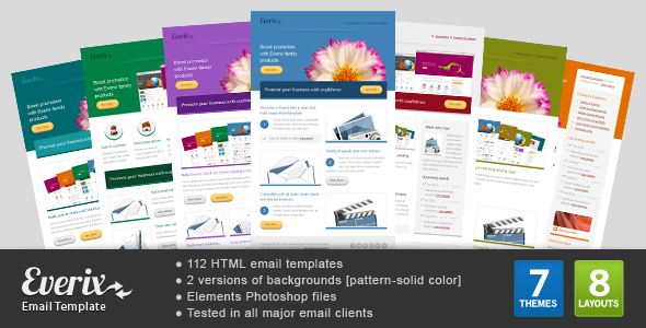 Everix Mail - ThemeForest Item for Sale